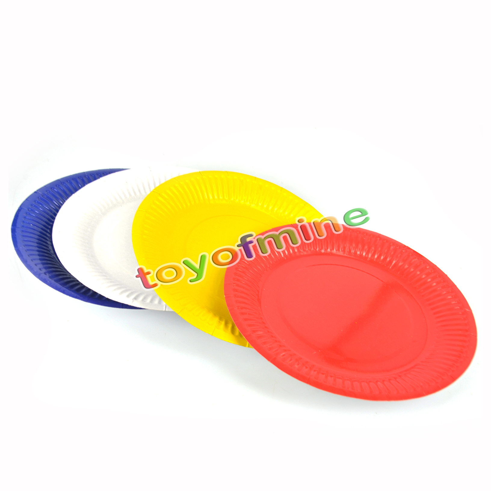 10pcs/lot 18cm Multi candy color festival disposable plate for parties birthday paper plates party wedding Halloween supplies  sc 1 st  AliExpress.com & Colored Disposable Plates Promotion-Shop for Promotional Colored ...