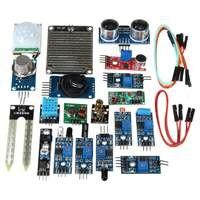 New 16PCS Set For Raspberry Pi Zero W Sensor Kit Module Kits Ultrasonic Photoresisto New Electric