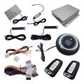PKE Alarme de Carro Com Sistema de Parada de Partida Do Motor Do Carro Botão de Toque do Dedo Auto Lock & Unlock Auto Arm & Disarm