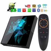 Android 9.0 A95X Z2 inteligentny TV Box Rockchip RK3318 4GB 64GB BT4.2 4K Google odtwarzacz 2.4G/5.0G WIFI inteligentne android tv PK H96MAX