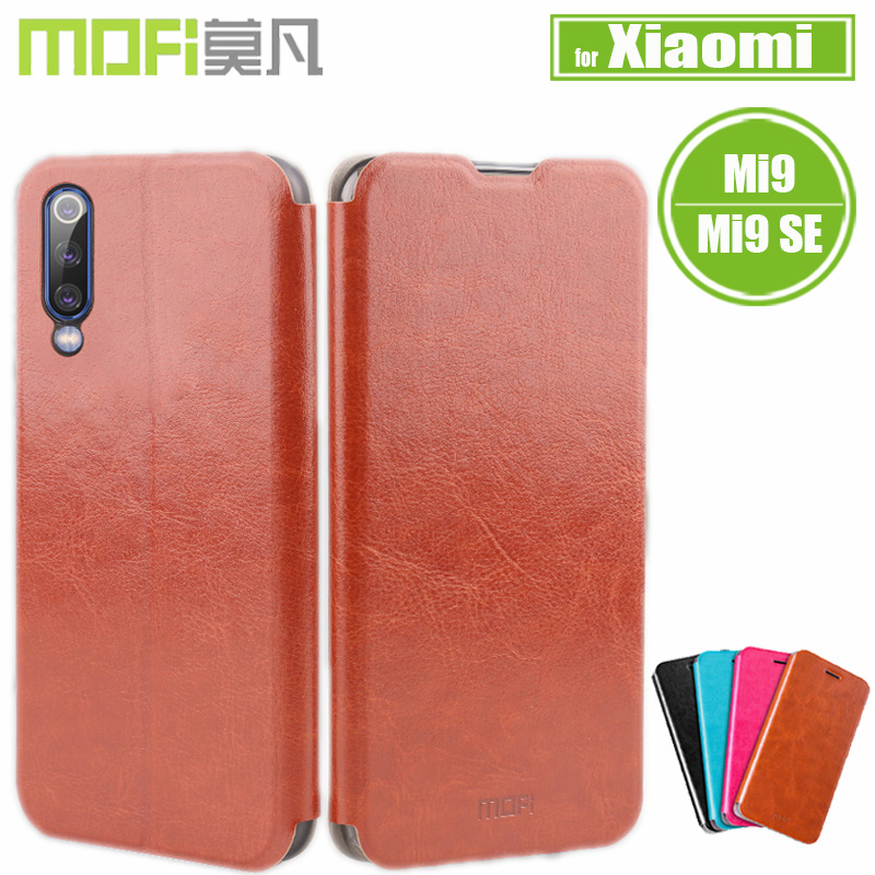 Mofi For <font><b>Xiaomi</b></font> <font><b>Mi</b></font> <font><b>9</b></font> Case <font><b>Xiaomi</b></font> Mi9 <font><b>SE</b></font> Cover Luxury Soft PU Flip Leather Kickstand Smart Phone Back Cases for <font><b>Xiaomi</b></font> M9 <font><b>SE</b></font> <font><b>Capa</b></font> image