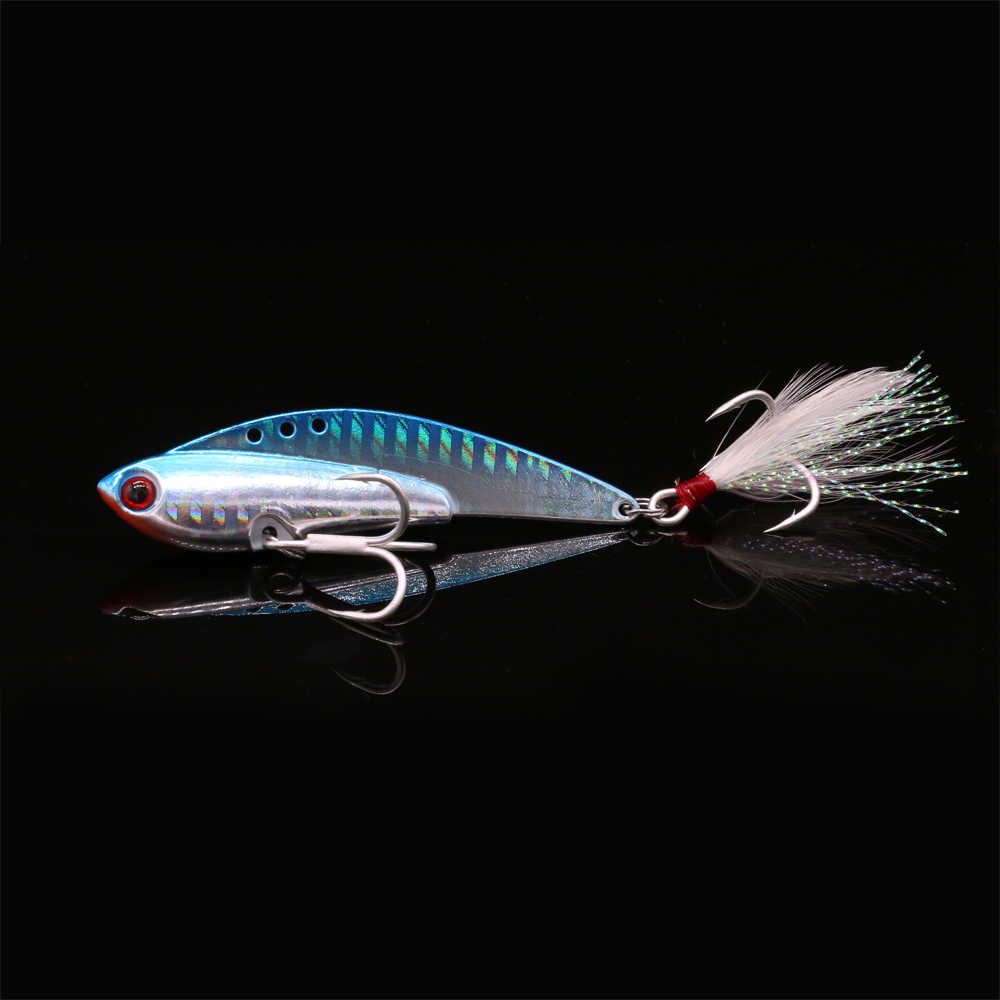 Mycena 14g 17g 21g 25g crank metal vibration lures fishing vib blade lure sinking artificial vibrator bass bait