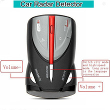 16 Full band Radar detector Cobra XRS 9880 High Performance Car detector Laser Detector with Russian / English Voice Anti Police
