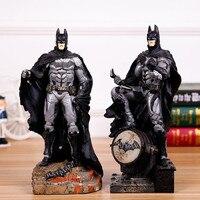 30 cm Ligi Sprawiedliwości Super Hero Batman Action Figures Zabawki Brinquedos Anime Bat Man Kolekcjonerska Klocki