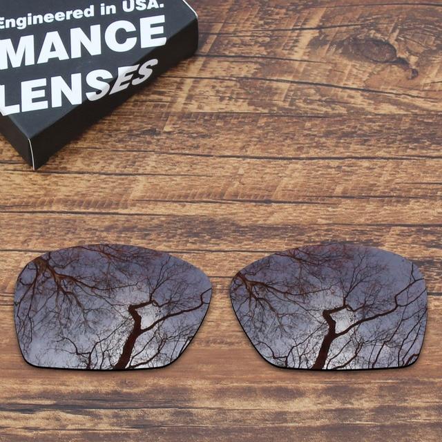 bd6c2161d1a ToughAsNails Polarized Replacement Lenses for Oakley Plaintiff Squared  Sunglasses Brown (Lens Only)