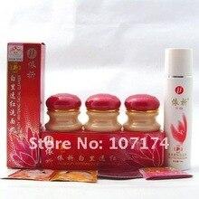Оригинальный отбеливающий крем YiQi для красоты 2 + 1, эффективный крем для очищения лица в течение 7 дней (красный чехол)