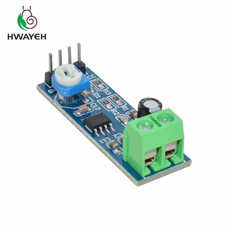 LM386 module amplificateur de puissance audio 200 fois gain carte amplificateur mono amplificateur de puissance 5 V-12 V entrée