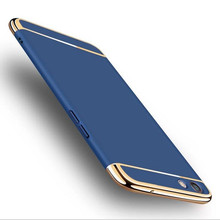все цены на For OPPO R9S case cover oppo r9s plus back cover 3 in 1Ultra Thin Luxury Rose Gold Plating Case oppo r9s plus case capa coque онлайн