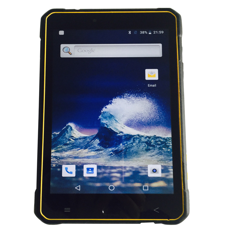 8 Inch H1920 V1200 IPS Android 8.1 RAM 3GB ROM 32GB Rugged Tablet PC With 4G LTE