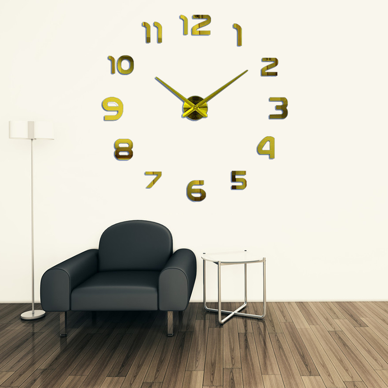 2019 Νέα Μέταλλο DIY Ρολόι Τοίχου - Διακόσμηση σπιτιού - Φωτογραφία 5