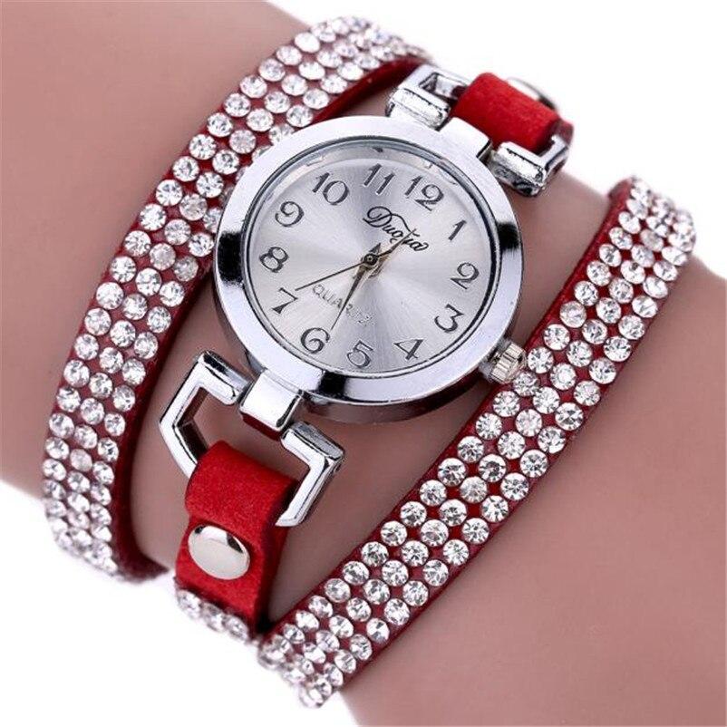 High Quality women fashion casual watch luxury dress ladies Leather Band Analog Quartz Wrist Watch clock Montre femme O10 (12)