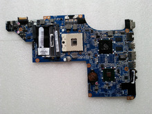 For HP DV6 630280-001 Laptop motherboard DA0LX6MB6H1 REV:H 100% Tested Free Shipping