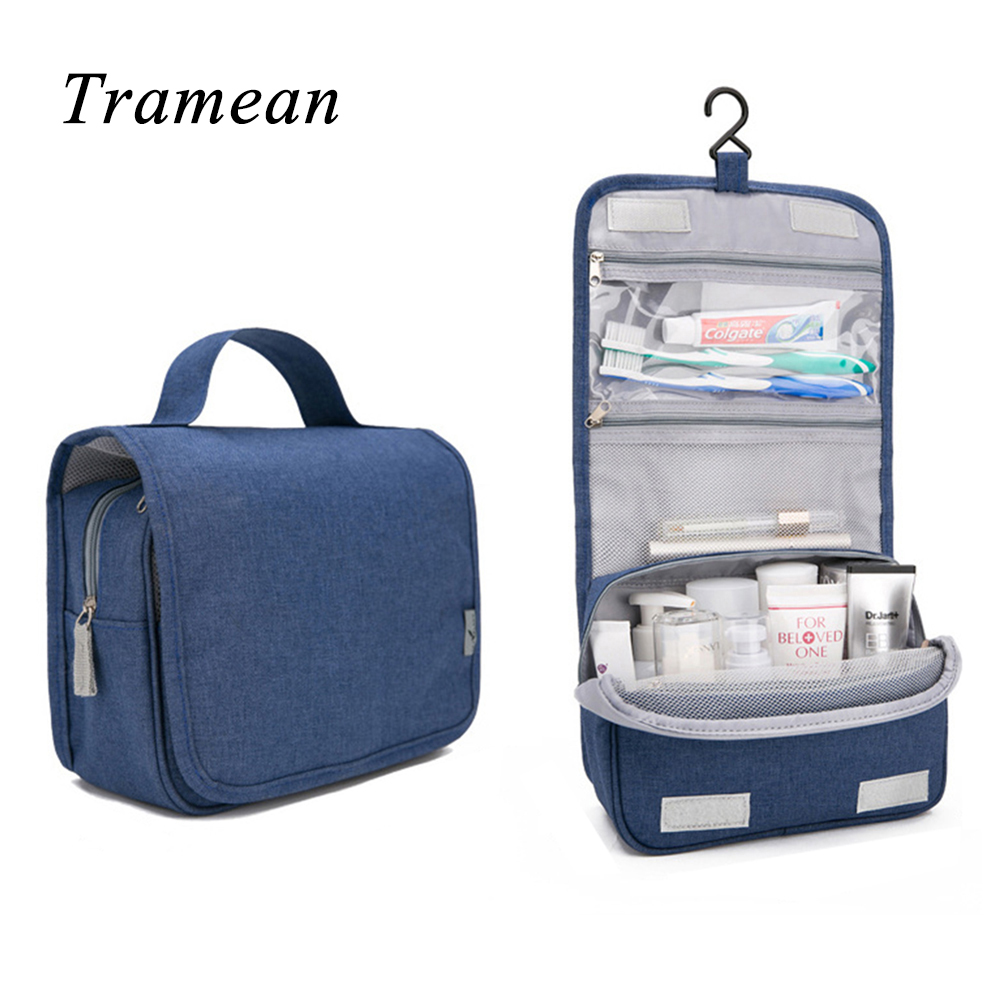 New Organizer Bag Women Travel Cosmetic Bags Hanging Wash Bag Makeup Daily Supplies Hanging Toilet  Portable Make up Bag z30