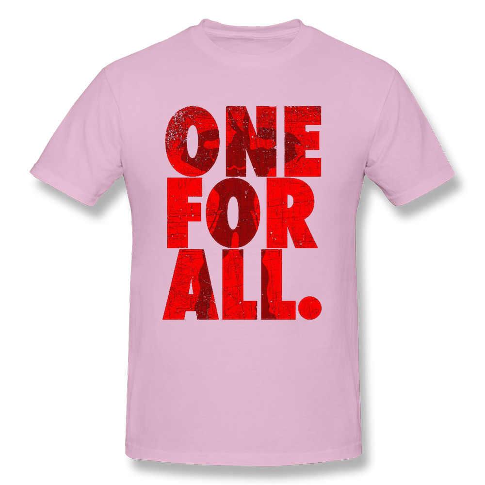 Mais poderoso Um Por Todos O Meu Herói Academia T-Shirt para Homens Boku nenhum Herói Anime Japonês 3D Impresso Mais Novo Tops Camisas crewneck Algodão