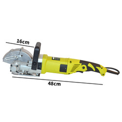 220V Elektrische Muurslijper Groef Cut Machine Muur Steken Machine B60 Staal Beton Snijden Grond Donkere Lijn Slotter Machine