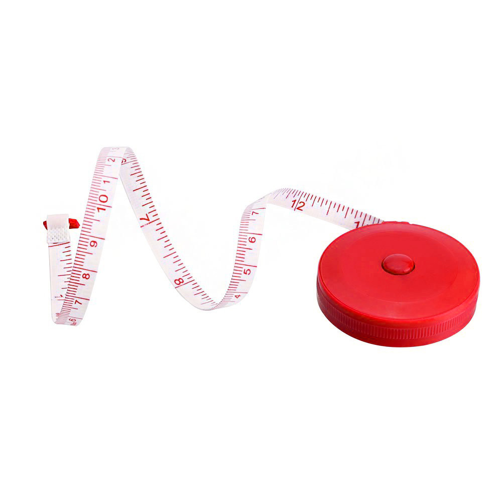 1 PCS Random Color Retractable Tape Measure Sewing Dieting Tapeline Ruler Tiny Tool Dropshipping Sep11