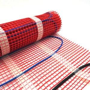 Image 2 - Minco calor 5 1515m2 gêmeo condutor kits de esteira de aquecimento por piso radiante sob telha piso quente