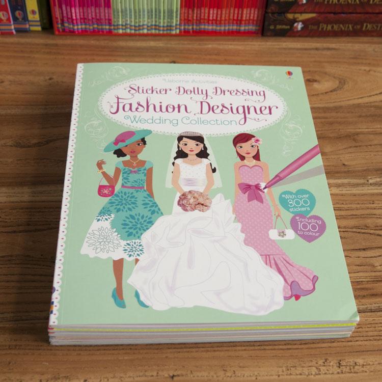 New Super Beautiful Original English Color Sticker Book Girls Princess Dress Up Stickers Books For Children Girl S Gift Dress Sticker Dress Up Stickersgirl Sticker Book Aliexpress
