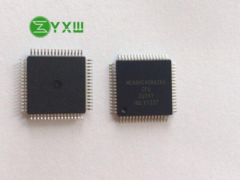 Free Shipping MC68HC908AZ60CFU 2J74Y MC68HC908AZ60 MC68HC908 64 QFP 100 new original