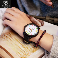 Yazole Cute Lovely Cartoon Number Children Watches Fashion Boys Girls Casual Kids Clock Wholesale And Retail