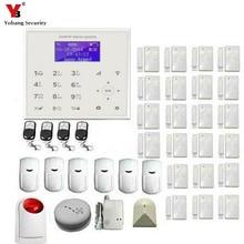 YobangSecurity Security Wireless Wifi SMS GSM Autodial Home Burglar Intruder Alarm Wireless Flash Siren PIR Motion Door Detector