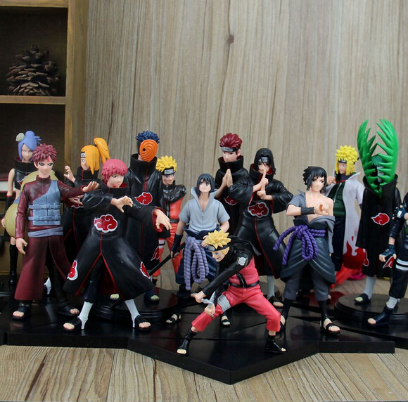 Good PVC Anime 17th Generation Naruto Model brinquedos Toy Action Figure For Decoration Collection Gift juguetes