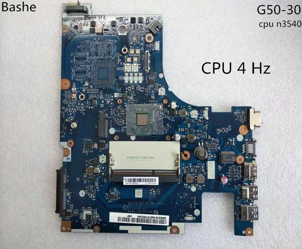 Nuevo!Envio gratis aclu9 / aclu0 nm - A311 G50 - 30 laptop Motherboard, Tarjeta madre Motherboard para Lenovo (para CPU Intel n