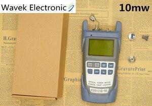 Image 5 - Универсальный оптоволоконный измеритель мощности от 70 до + 10 дБм и 10 мВт 10 км тестер волоконно оптического кабеля визуальный локатор ошибок лазерная ручка тестер