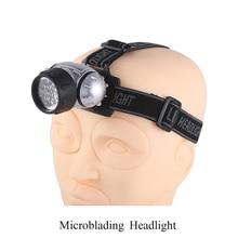 Microblading Headlight Eyebrow Microblading Master Working Tool Adjustable LED Light Microblading Accessories