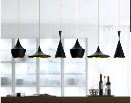 pendant bar lighting. led lamps loft style retro restaurant bar lighting design by tom dixon pendant lamp beat light i