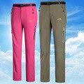 Pantalones de 2016 parejas en la primavera y el otoño de aire de secado rápido uv pantalones femeninos pantalones de los hombres de montaña
