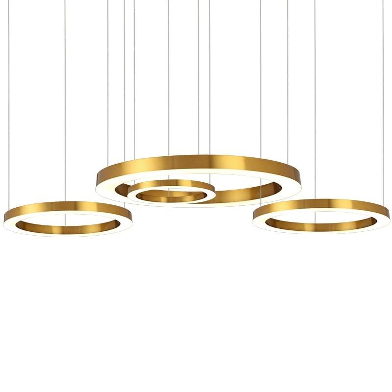 Moderno LED lampadario di Lusso di Grandi Dimensioni combinazione cerchio per Soggiorno led-lampada a Sospensione Lampade anello Lampadari lampadaModerno LED lampadario di Lusso di Grandi Dimensioni combinazione cerchio per Soggiorno led-lampada a Sospensione Lampade anello Lampadari lampada