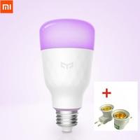 Update Version Xiaomi Yeelight Smart LED Bulb Colorful 800 Lumens 10W E27 Lemon Smart Bulb Lamp For Mi Home App White/RGB Option Smart Remote Control
