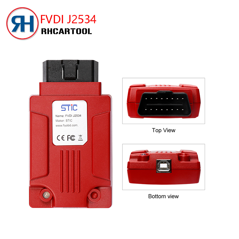 OBD2 Newest FVDI J2534 Diagnostic Tool for Fo rd Mazda Support Online Module Programming Support Most