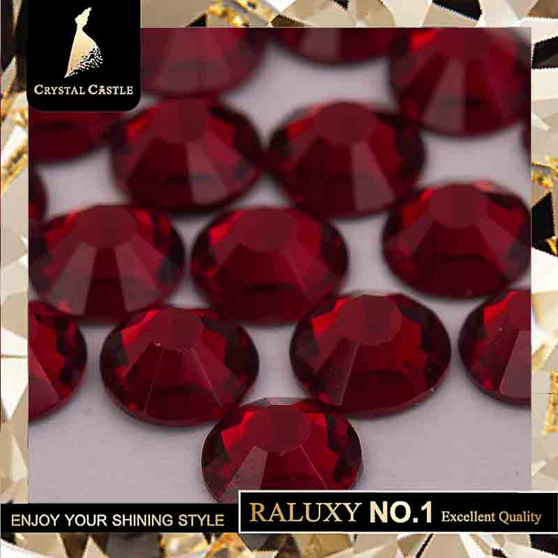 Detail Feedback Questions about Crystal Castle 4A glass flatback rhinestone  red Garnet non hot fix crystal none glue no hotfix strass rhinestones for  nail ... 4327f5cb0011