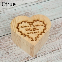 Wedding Guest Book Drop Top Custom Name Personalized Wedding Guestbook Memory box With 20PC Heart Wedding Wood for Party Gift
