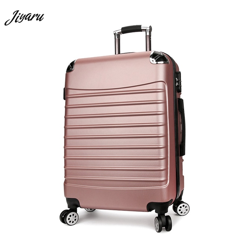 20 24 Inches Girl Trolley Case ABS Students Lovely Travel Bags Waterproof  Rolling Luggage Suitcase Extension Boarding Box20 24 Inches Girl Trolley Case ABS Students Lovely Travel Bags Waterproof  Rolling Luggage Suitcase Extension Boarding Box