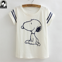 New Women Tshirt Summer Style Cute Dogs Printing Style Novelty Vogue Princess Print Cotton Casual Shirt
