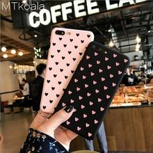 MTkoala Small Fresh Love Mobile Phone Case For iphone 6 6S 7 8 Plus PC Matte