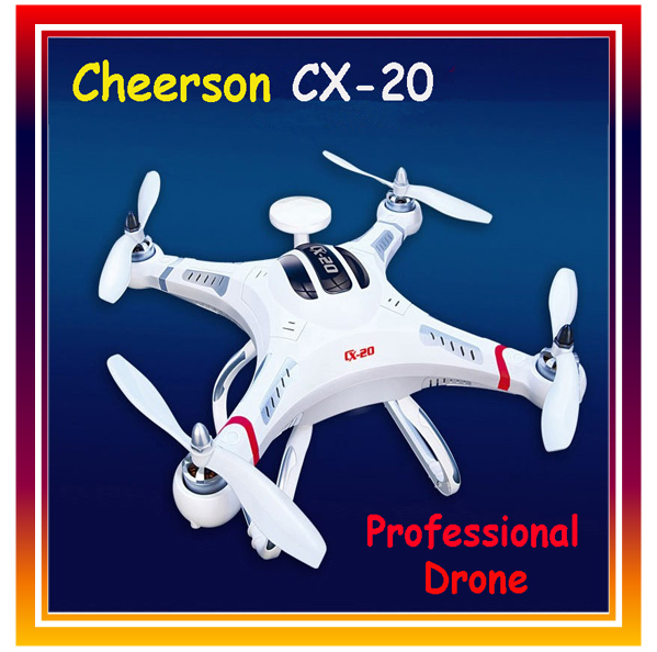 Original Cheerson CX-20 RC Drone Professional RC Quadcopter with GPS Remote Control Helicopter Without Camera free shipping cx 20 rc drone helicopter quadcopter parts flight control circuit board pcb for cheerson auto pathfinder