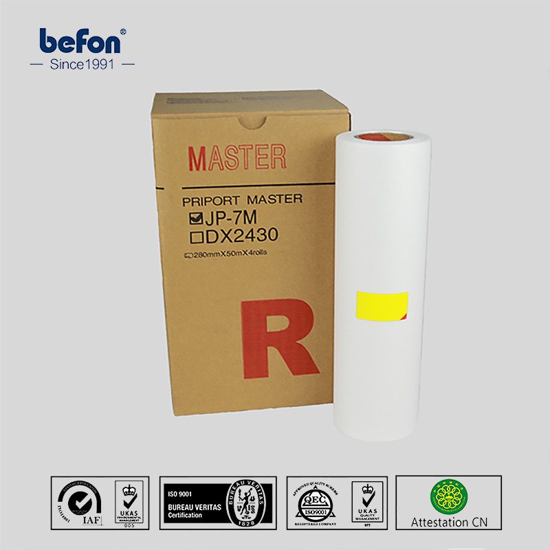 befon Master Roll  Master Compatible for Ricoh DX2430C DX 2430 CP6202C CP6201 DX2432C 2430 2432 for gestetner 6201 6202 printer