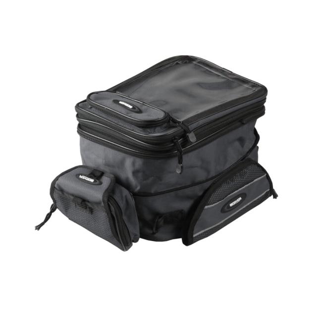 SCOYCO MB09 Motorcycle Tank Bag Sports Helmet Racing Motobike Backpack Magnet Luggage Travel bolso Oxford water resistance Black