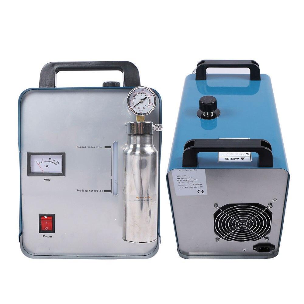 75L/95L Flame Polisher High Power Portable Polishing Machine Oxygen Hydrogen Acrylic Water Welder H160/H180