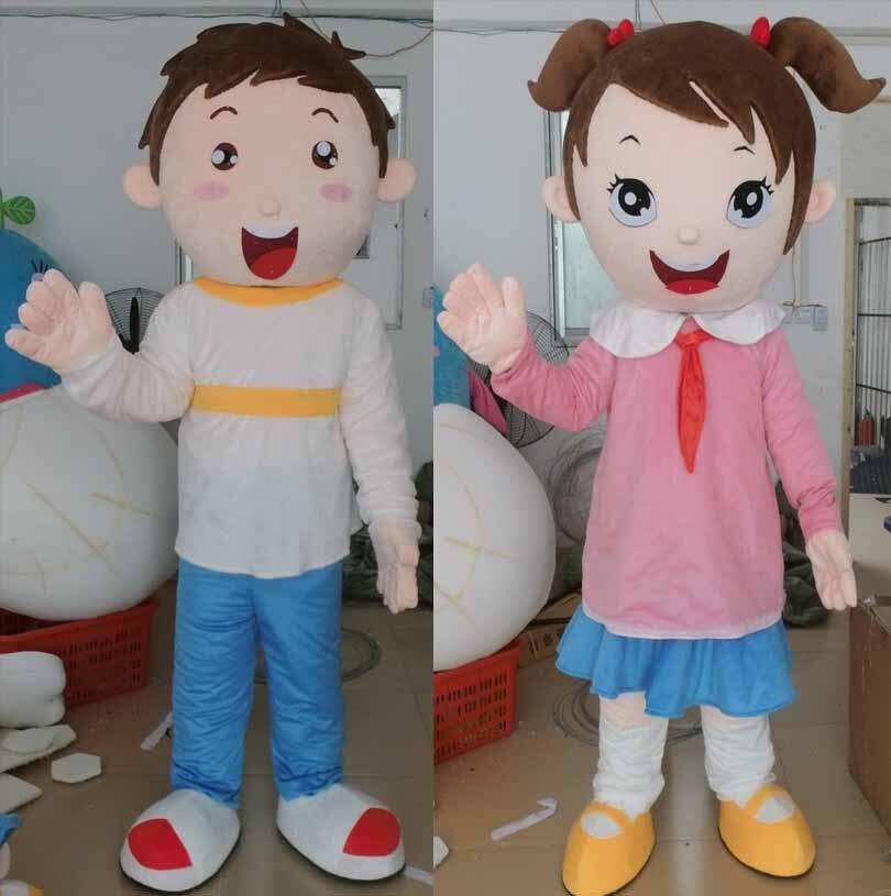 ᐂScuola ragazzi e ragazze costume della mascotte per adulti - a158 012eea4eb88