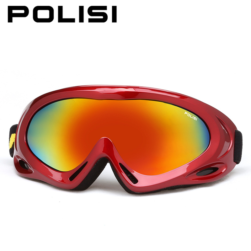 Snowmobile óculos de esqui polisi outdoor desporto de inverno crianças  anti-nevoeiro óculos de esqui snowboard óculos de proteção para crianças  uv400 1a47d6093a