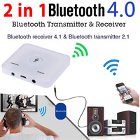 HIFI Bluetooth 4 0 Audio Transmitter Receiver Wireless A2DP 3 5MM RCA Music 2 In 1
