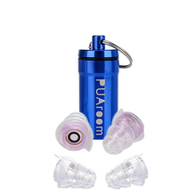 PUAroom High Fidelity Ear Plugs with hearing protection for Noise Cancelling Earplugs for Musicians Concerts