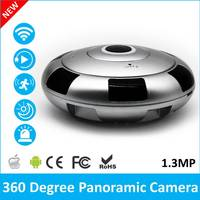 2017 Newest Mini VR IP Wi Fi Camera HD 960P 360 Degree Panoramic Network CCTV Security