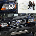 For Volvo XC90 2010 2011 2012 2013 with xenon headlight Excellent CCFL angel eyes kit Ultrabright illumination halo Ring kit