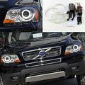 Para Volvo XC90 2010 2011 2012 2013 com farol xenon Excelente Ultrabright CCFL angel eyes kit de halo Anel kit de iluminação